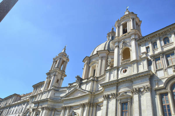 Photograph - Piazza Baroque Church by JAMART Photography