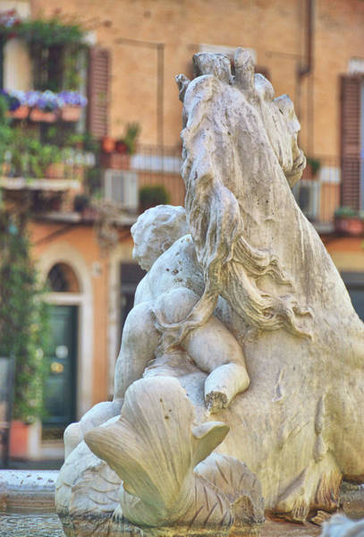 Photograph - Piazza Fountain Views by JAMART Photography