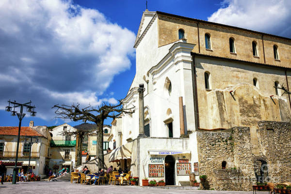 Wall Art - Photograph - Piazza Il Duomo Ravello by John Rizzuto