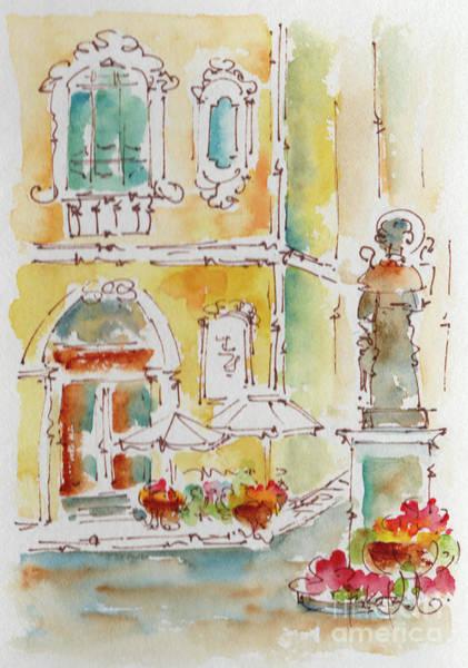 Painting - Piazza Tasso Sorrento by Pat Katz