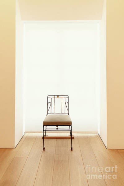 Photograph - Picasso's Museum Chair by Craig J Satterlee