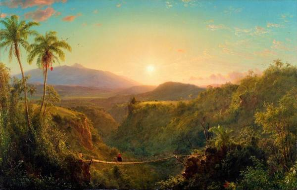 Wall Art - Painting - Pichincha - Digital Remastered Edition by Frederic Edwin Church