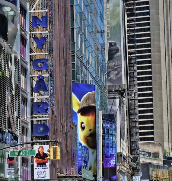 Wall Art - Photograph - Pikachu Peeking by Allen Beatty