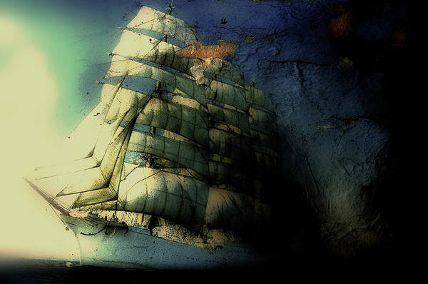 Sailboat Photograph - Picture Of A Sailboat Painted On A by Win-initiative/neleman