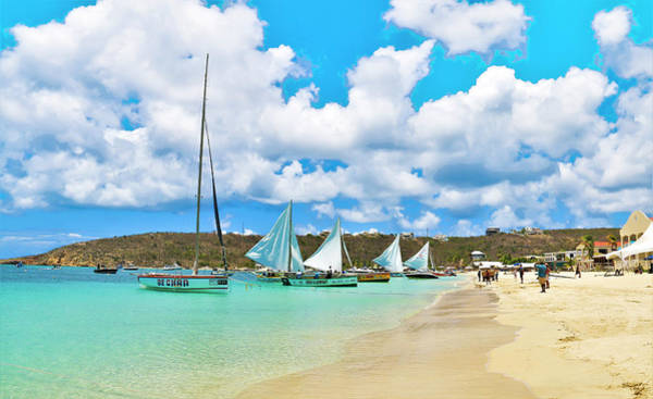 Photograph - Picture Perfect Day For Sailing In Anguilla by Ola Allen