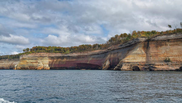 Photograph - Pictured Rocks by John M Bailey