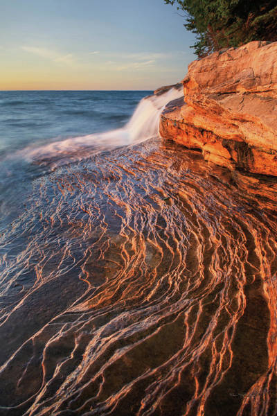 Wall Art - Photograph - Pictured Rocks Michigan I by Alan Majchrowicz