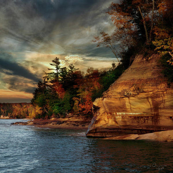 Photograph - Pictured Rocks National Park by Evie Carrier