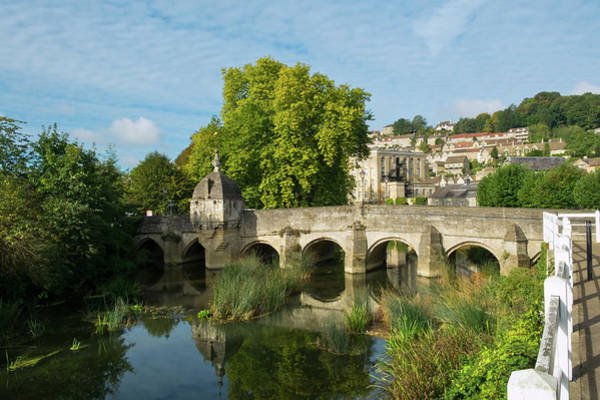 Somerset County Photograph - Picturesque Bradford On Avon, Wiltshire, Uk by Seeables Visual Arts