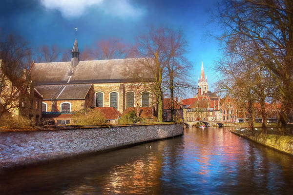 Belgian Photograph - Picturesque Bruges Belgium  by Carol Japp