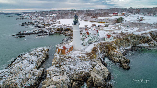 Photograph - Picturesque Maine  by Michael Hughes