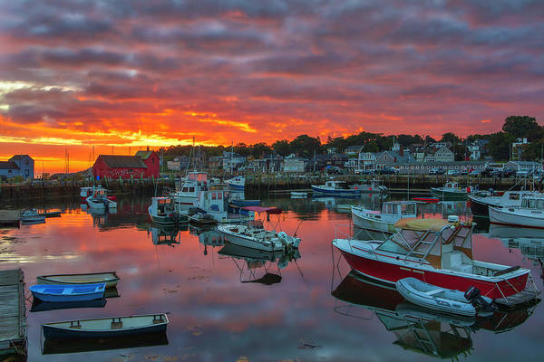 Photograph - Picturesque Rockport  by Juergen Roth