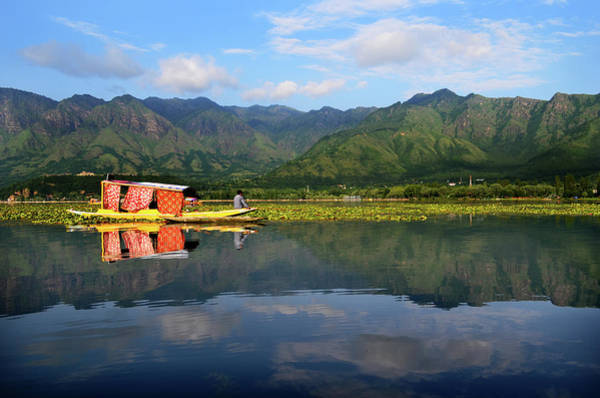 Dal Lake Photograph - Piece Of Heaven by Photograph By Anindya Sankar Dey