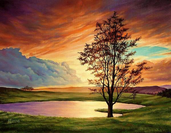 Magic Realism Painting - Piece Of Heaven by Svetoslav Stoyanov