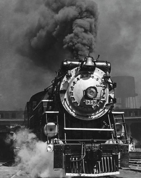 Georgia Photograph - Piedmont Limited Locomotive by Horace Bristol
