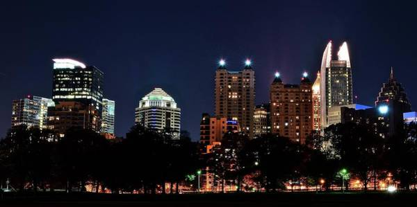 Wall Art - Photograph - Piedmont Park Pano by Frozen in Time Fine Art Photography