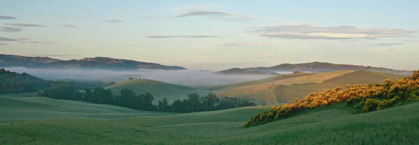 Collin Photograph - Pienza Sunrise With Mist In Tuscany by © Frédéric Collin