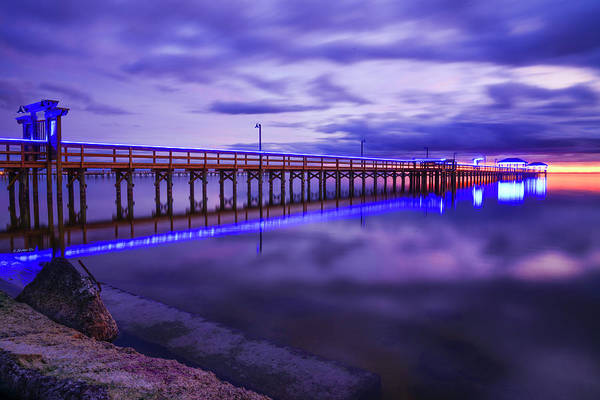 Wall Art - Photograph - Pier Blues I by Christopher Rice