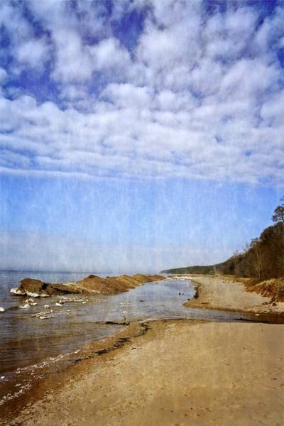 Photograph - Pier Cove With Big Sky by Michelle Calkins