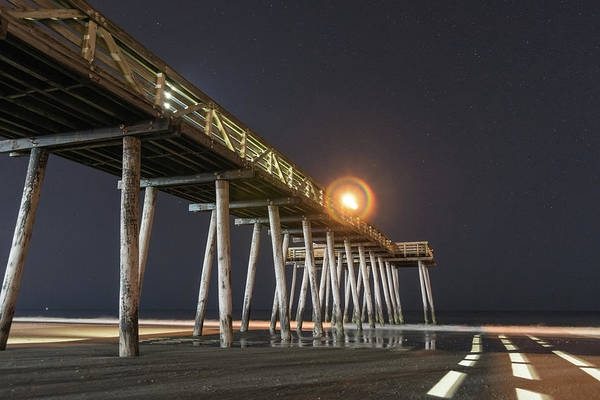Photograph - Pier Into The Night by Kristopher Schoenleber