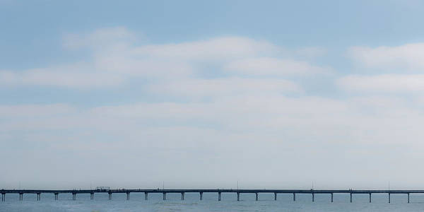 Wall Art - Photograph - Pier Line by Peter Tellone