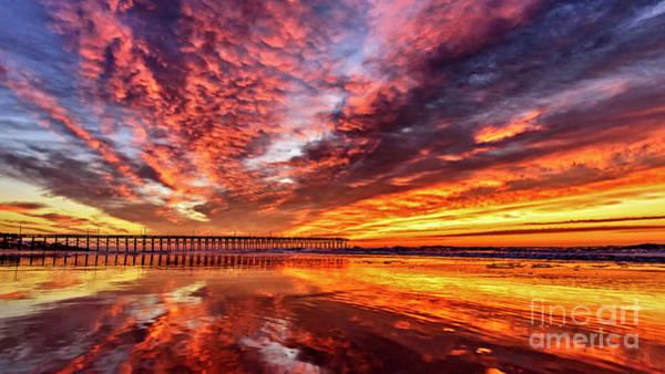 Photograph - Pier Magic by DJA Images