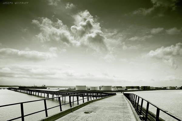 Wall Art - Photograph - Pier-shaped by Joseph Westrupp