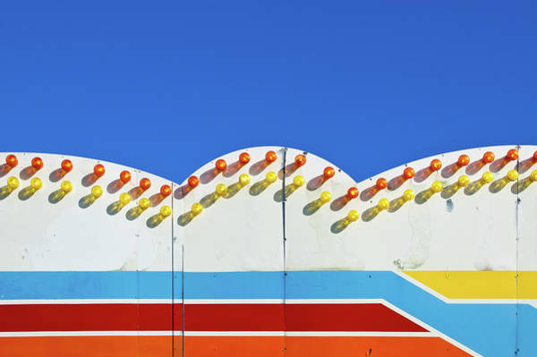 Palace Pier Wall Art - Photograph - Pier Signage by Richard A. Holden