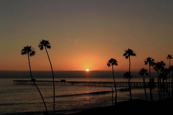 Photograph - Pier Sunset by Brian Eberly