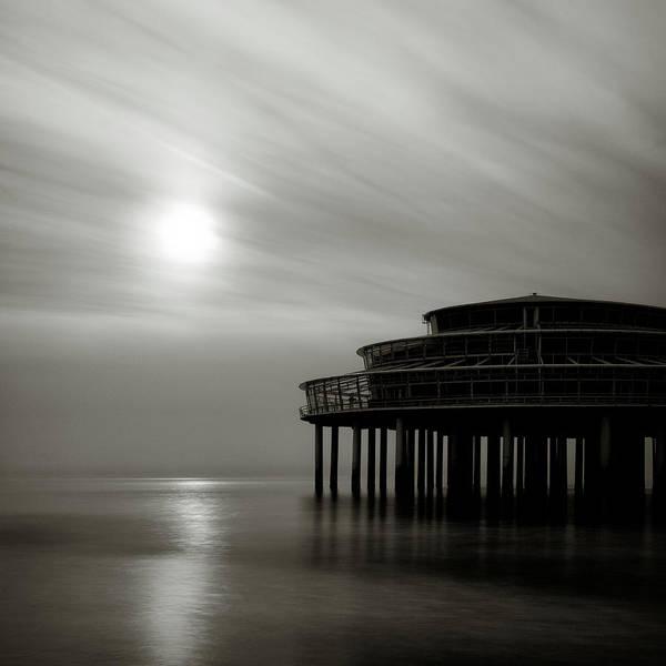 Wall Art - Photograph - Pier Sunset by Dave Bowman
