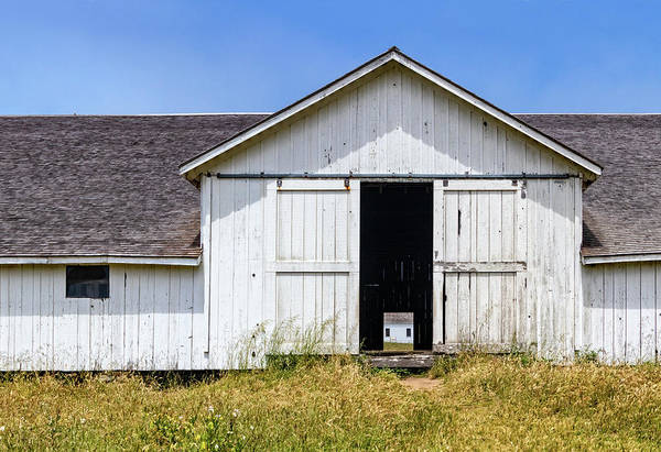 Photograph - Pierce Ranch Barn by Carolyn Derstine