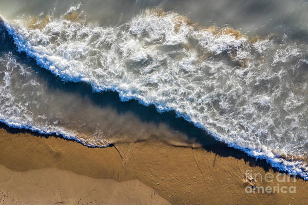 Wall Art - Photograph - Pierport Surf Aerial by Twenty Two North Photography