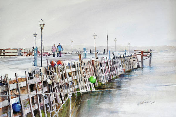 Painting - Piers To Be Cold by P Anthony Visco
