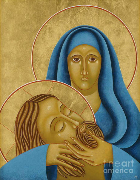 Painting - Pieta By Jodi Simmons by Jodi Simmons