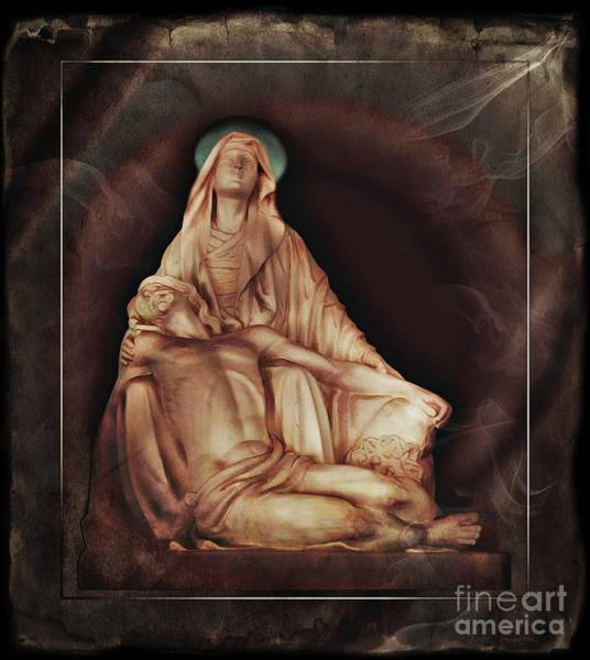 Wall Art - Photograph - Pieta In Andalucia, Colombia by Al Bourassa