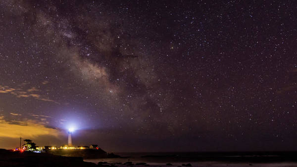 Photograph - Pigeon Point And The Stars by Jack Peterson