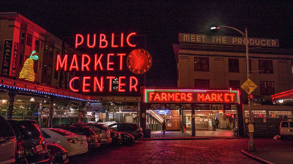 Photograph - Pike Place Market.1 by E Faithe Lester