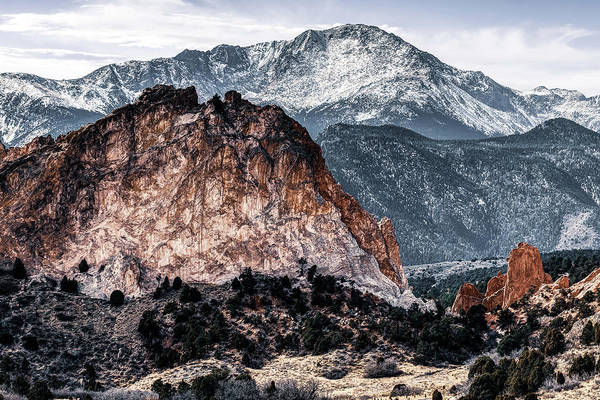 Wall Art - Photograph - Pikes Peak And Garden Of The Gods - Colorado Springs Mountain Landscape by Gregory Ballos