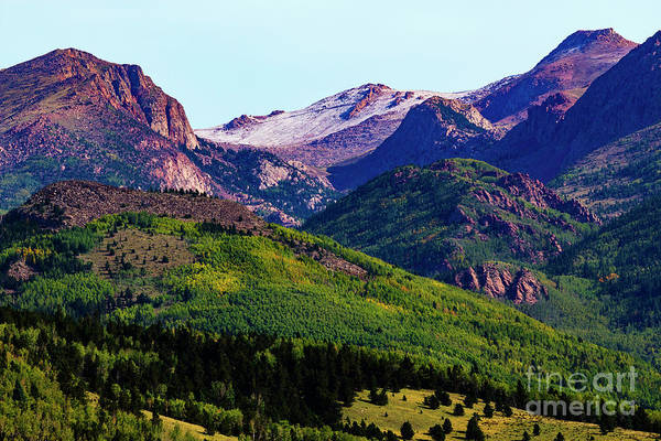 Photograph - Pikes Peak In Early Autumn by Steve Krull