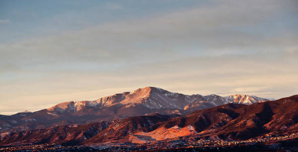 Photograph - Pikes Peak Sunrise by Erick4x4