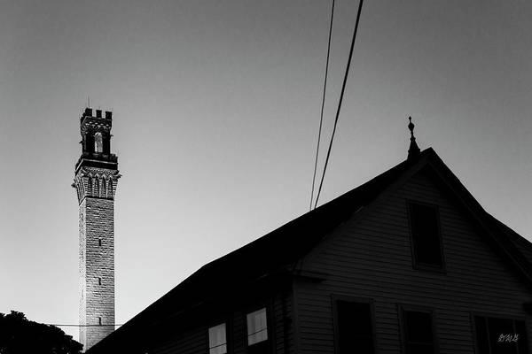 Photograph - Pilgrim Monument Provincetown II Bw by David Gordon