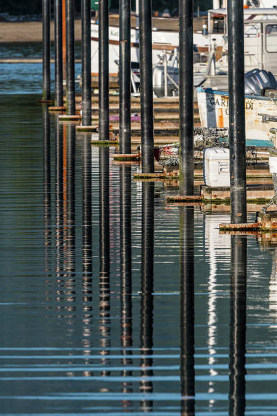 Photograph - Pilings And Ripples by Robert Potts