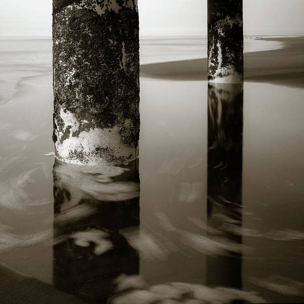 Wall Art - Photograph - Pillars And Swirls by Dave Bowman