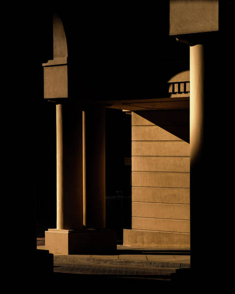 Wall Art - Photograph - Pillars In Shadow by Joseph Smith