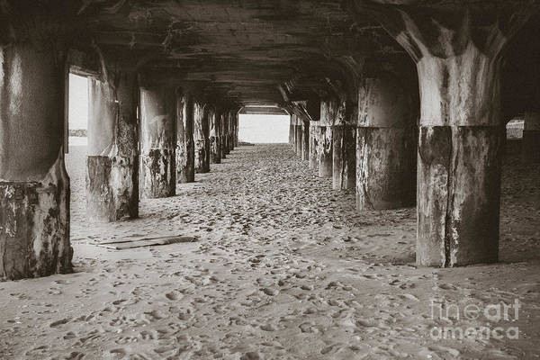 Wall Art - Photograph - Pillars In The Sand - Convention Hall by Colleen Kammerer