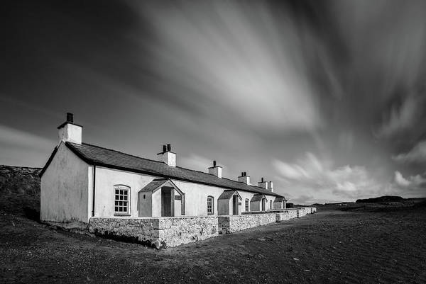 Pilot Photograph - Pilot Cottages by Dave Bowman