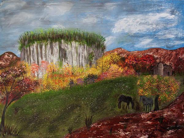 Painting - Pilot Mountain by Randy Sylvia