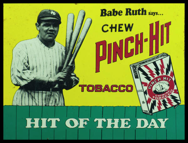 Photograph - Pinch Hit Advertising by Chris Flees