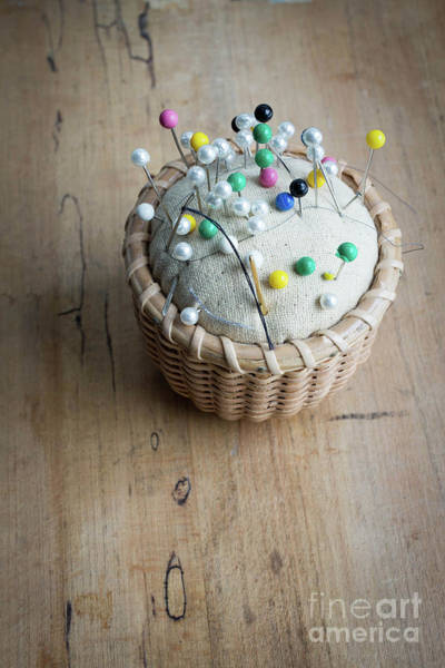 Photograph - Pincushion Still Life by Edward Fielding