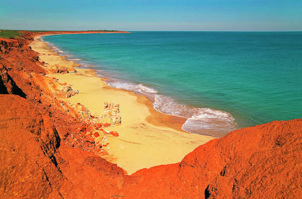Broome Photograph - Pindan Cliffs At James Price Point Near by Australian Scenics